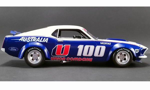 Real Art Replicas Ford Mustang #100 Moffat - Blue/White