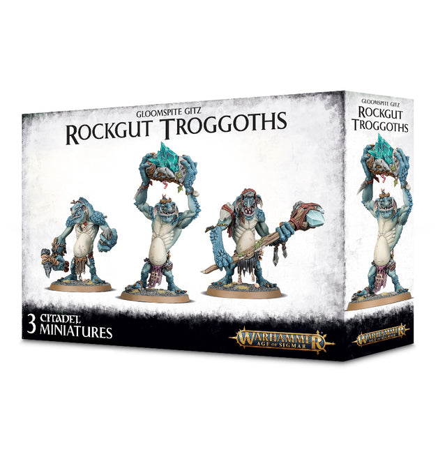 Games Workshop 89-33 Gloomspite Gitz Rockgut Trogoths