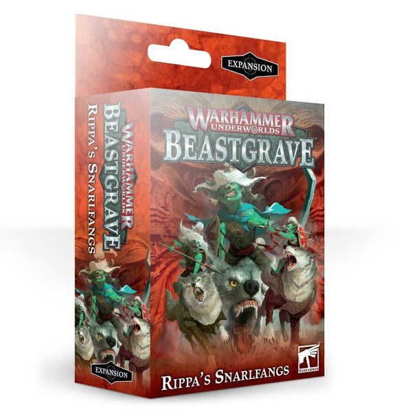 Games Workshop 110-64 Warhammer Underworlds: Rippa's Snarlfangs