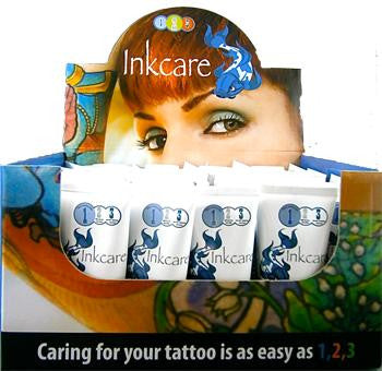 Inkcare After Tattoo Soothing Balm Box of 40 x 25g tubes