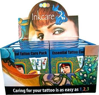 Inkcare Essential Tattoo After Care Pack ( Box of 8 Packs)