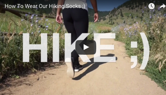 How To Put On Hiking Socks