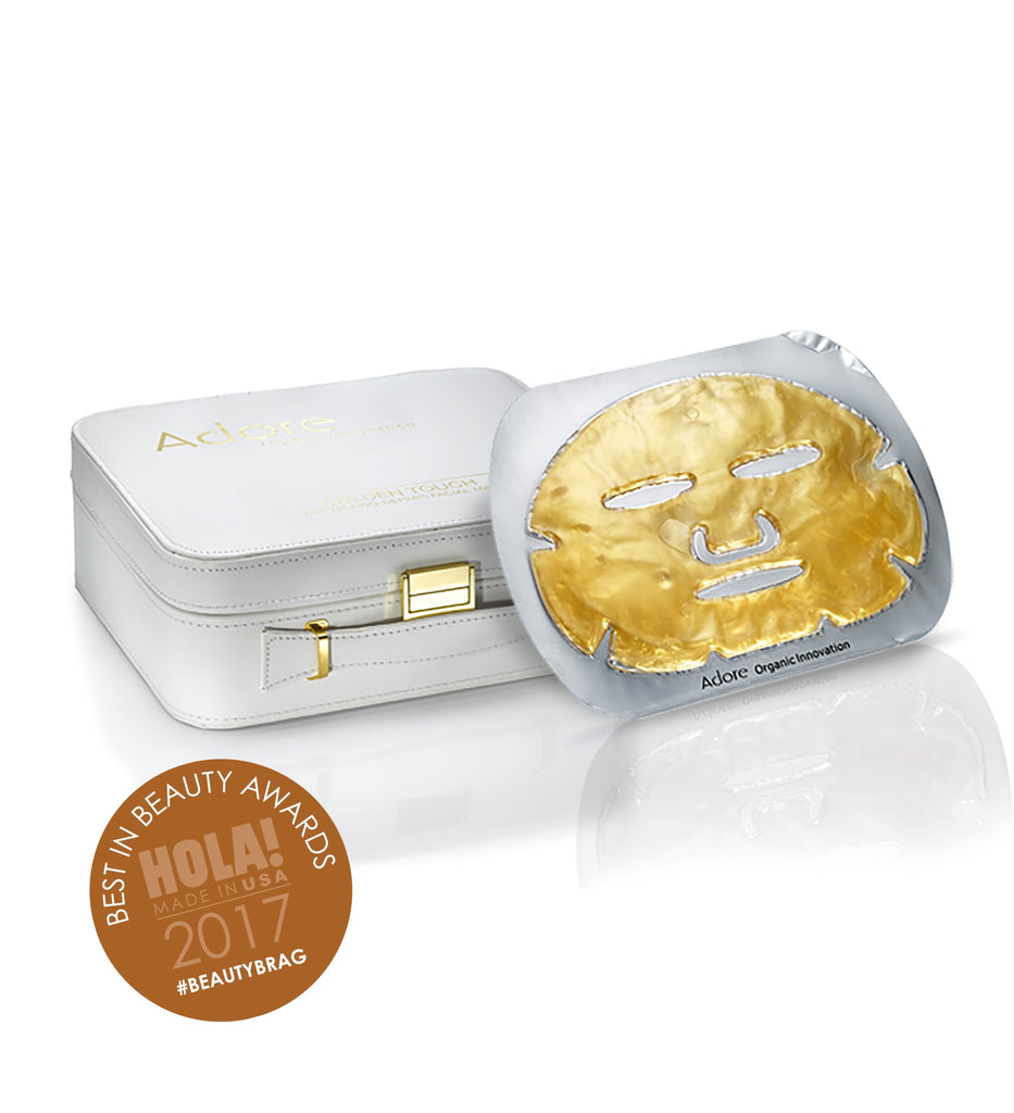 Golden Touch 24K Techno-Dermis Facial Mask Wins Another Award!