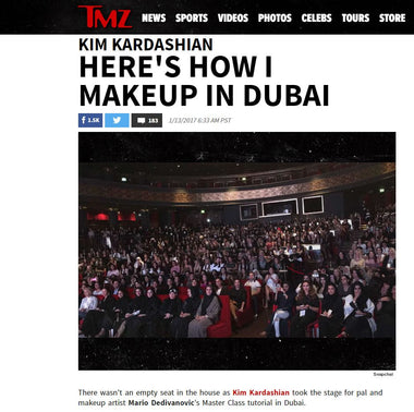 Adore Cosmetics Makes Splash in Dubai with Kim Kardashian