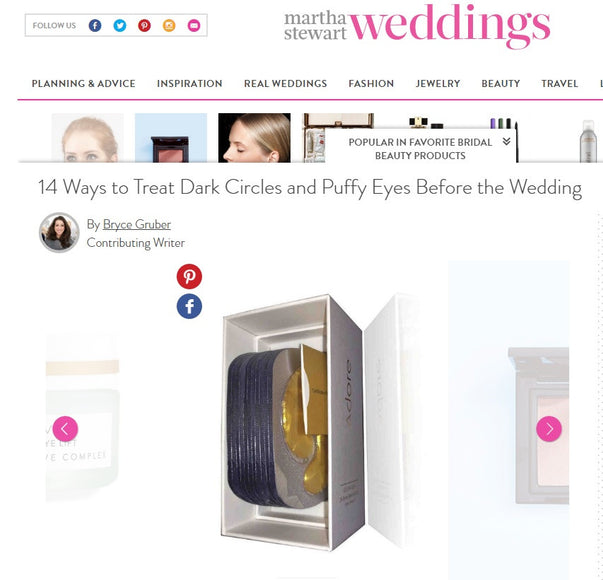 Adore Cosmetics Featured in Martha Stewart Weddings