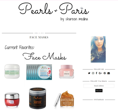 Adore Cosmetics Icon Edition Review in Pearls and Paris Blog
