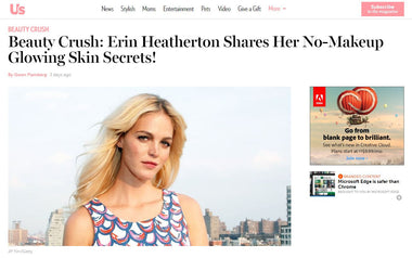 Erin Heatherton Says Adore Cosmetics Makes Her Glow: US Magazine