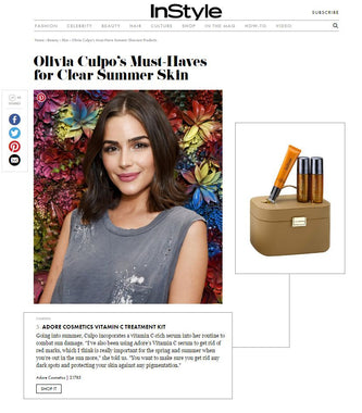 InStyle Interview: Olivia Culpo Talks Adore Cosmetics