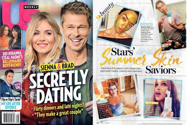 US Weekly Stars' Summer Skin Saviors Features Golden Touch Magnetic Facial Mask