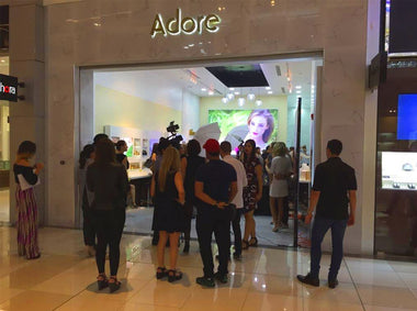 Grand Opening of Adore Cosmetics Store in Multiplaza Pacific Mall in Panama