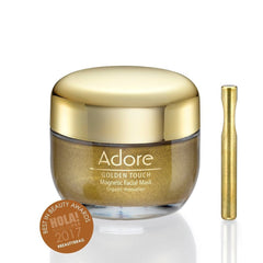 Adore Cosmetics Reviews on YouTube Golden Touch Magnetic Facial Mask