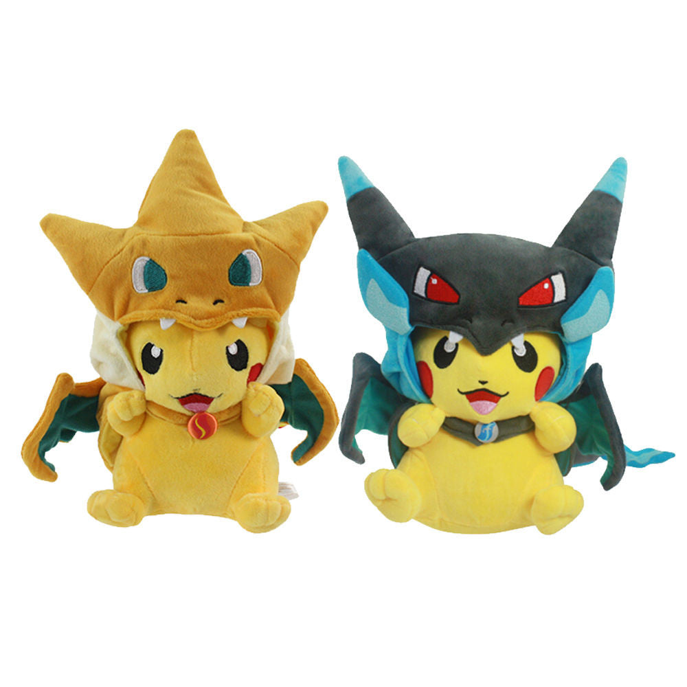 Limited Edition Pikachu in Mega Charizard X/Y Costume Plush  sc 1 st  PokéCube Store & Pokemon Plush - Limited Edition: Pikachu in Mega Charizard X/Y ...