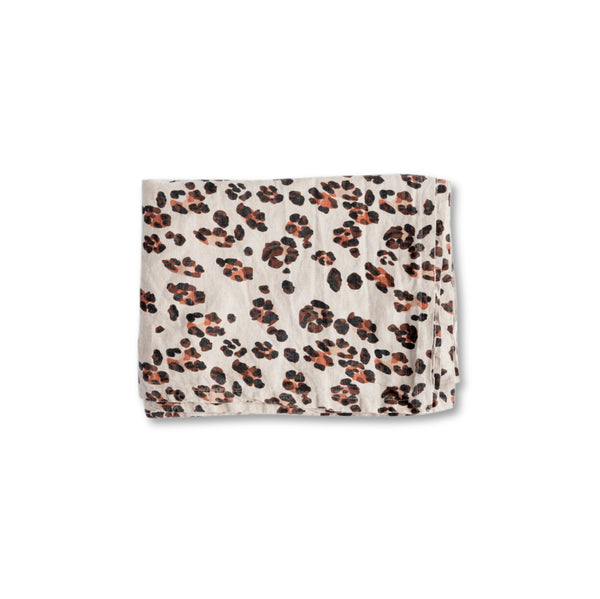 PREORDER - Leopard Linen Napery