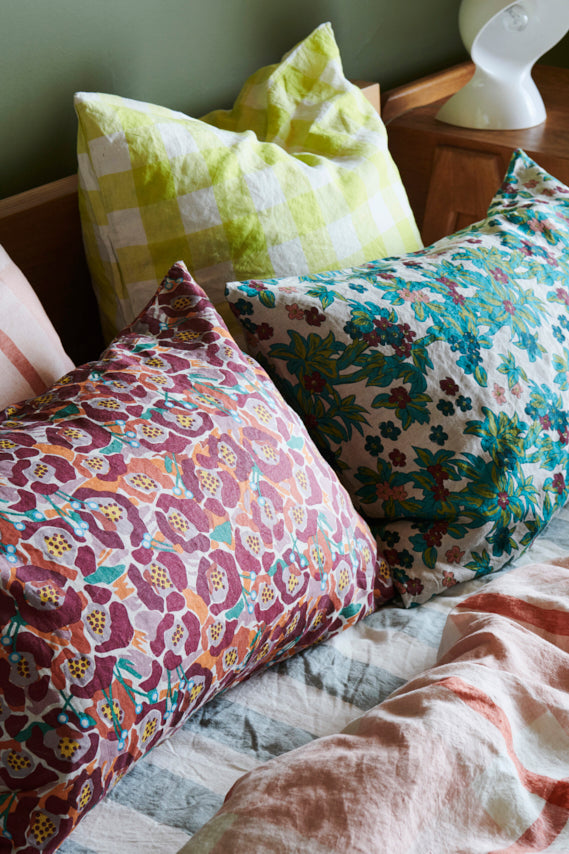 Betty Floral Pillowcase Sets
