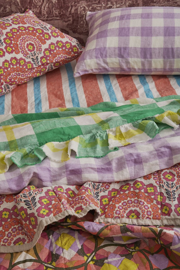 PREORDER - Candy Stripe Fitted Sheet