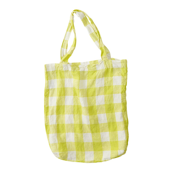 Limoncello Gingham Tote