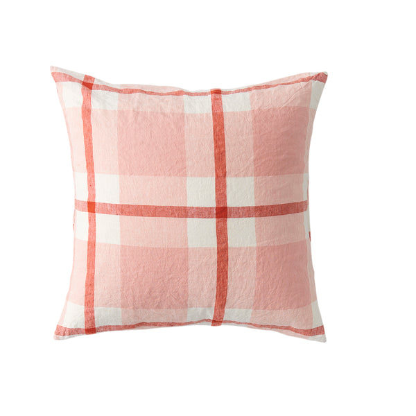 Floss Check Cushion