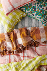 Biscuit/Limoncello Double Sided Quilt