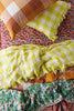 Limoncello Gingham Pillowcase Sets