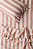 Tobacco Stripe Pillowcase Sets