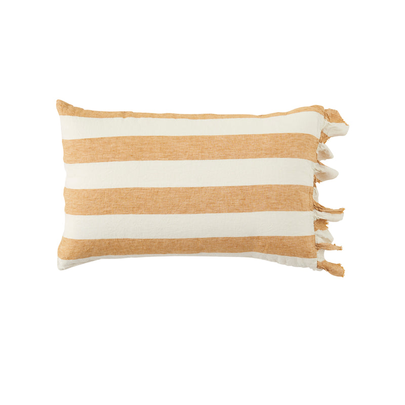 Turmeric Stripe Pillowcase Sets