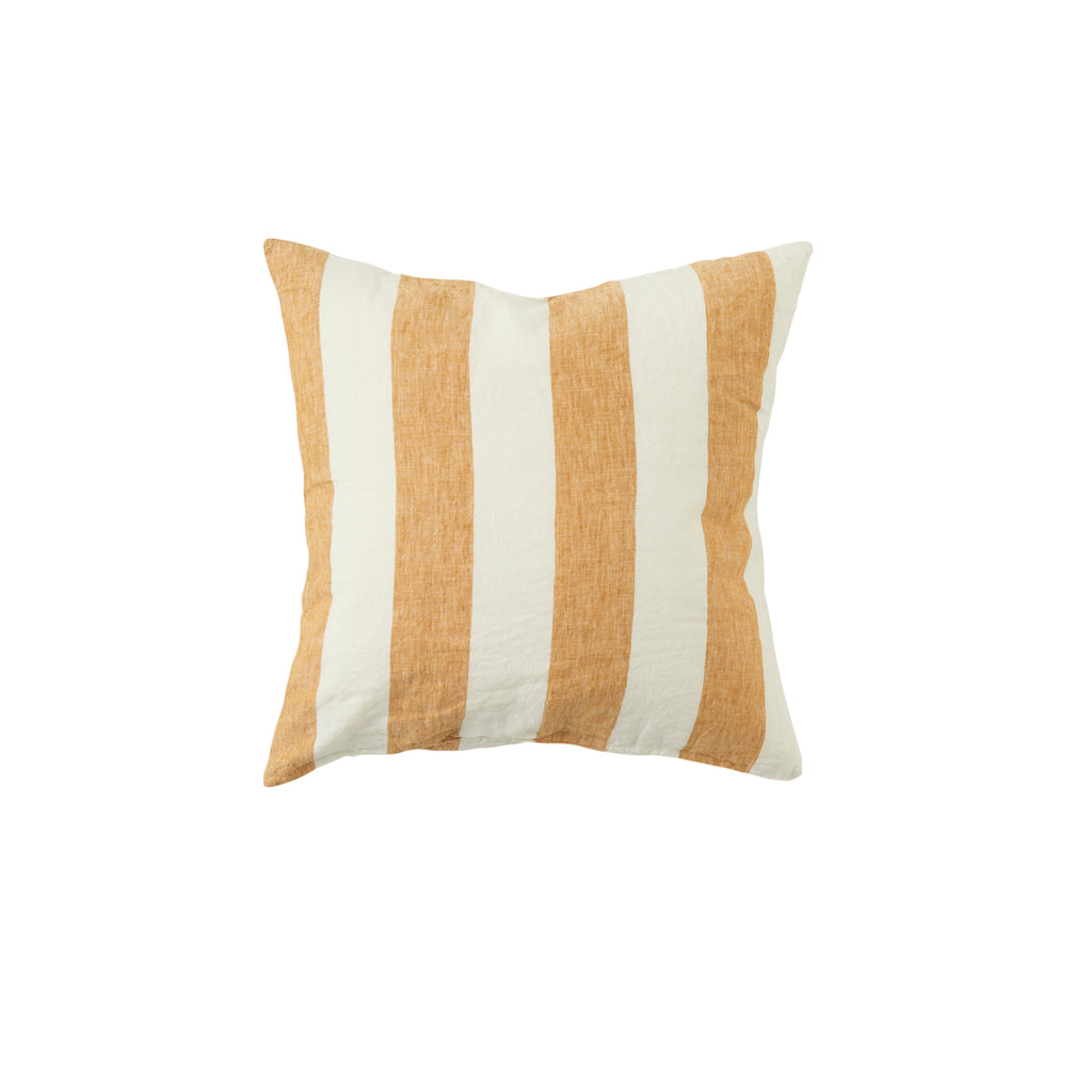 PREORDER - Turmeric Stripe Cushion