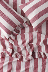 Sangria Stripe Pillowcase Sets