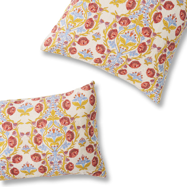 Lydia Floral Pillowcase Sets