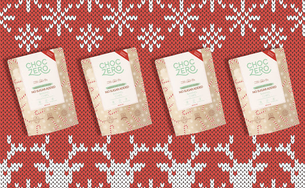 Sugar Free White Chocolate Peppermint Chips + A Holiday Keto Gift Guide