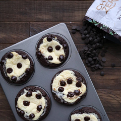 Perfect Keto Chocolate Cheesecake Muffins
