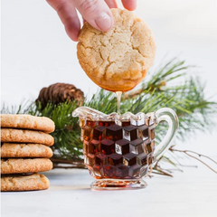 Cookies made with bacon and maple syrup