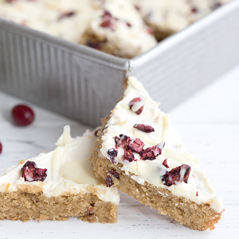 Keto Copycat Cranberry Bliss Bars