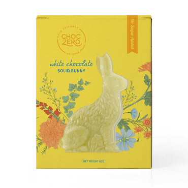 White Chocolate Easter Bunny - 3oz - No Sugar Added, Low Carb