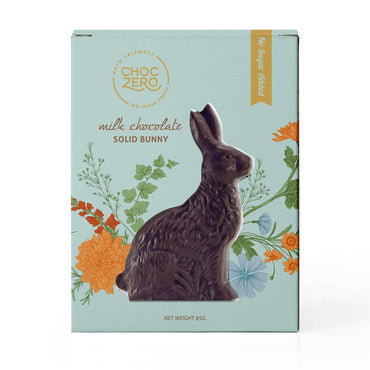 Milk Chocolate Easter Bunny - 3oz - No Sugar Added, Low Carb