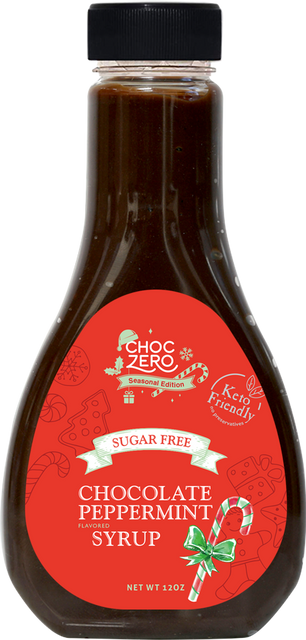Sugar free chocolate peppermint syrup