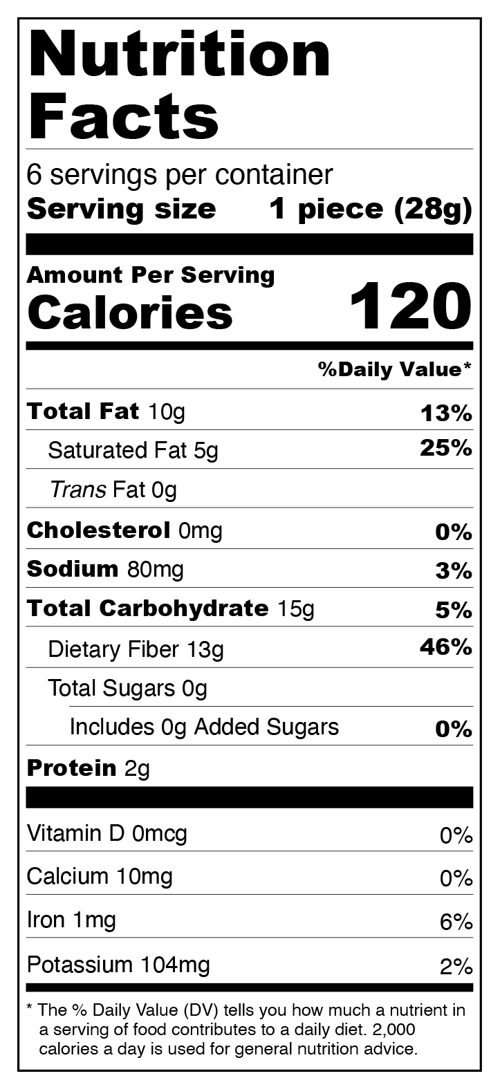 Dark Chocolate Peanut Keto Bark - Sugar Free, Low Carb Nutrition Facts