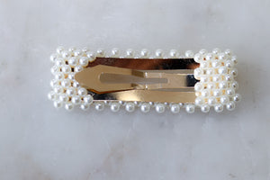 Perfect Pip Pearl Hair Clip - Square