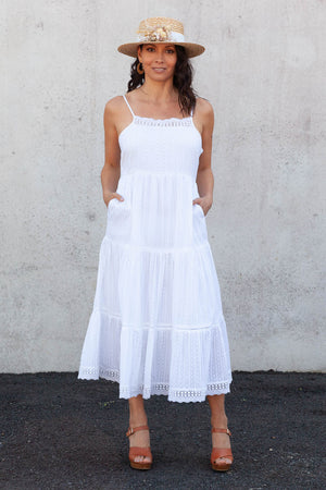 The Hero Dress - White