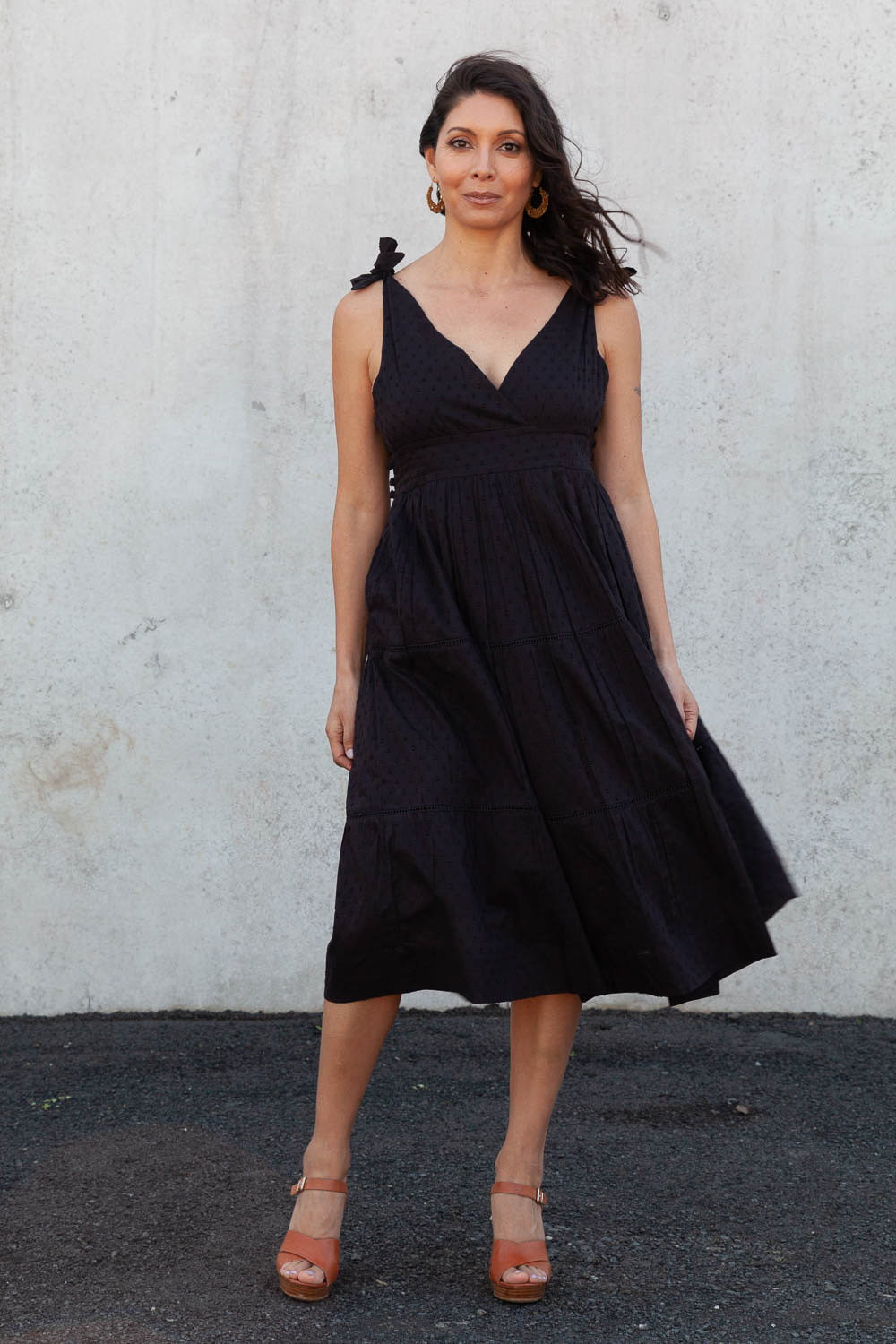 The Chrysler Dress - Black