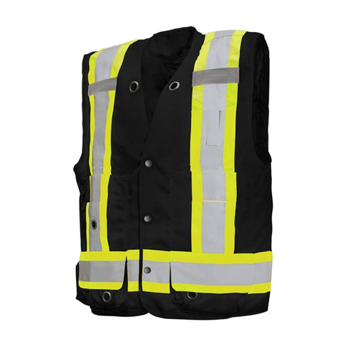 Deluxe Surveyor Vest with Seventeen Pockets