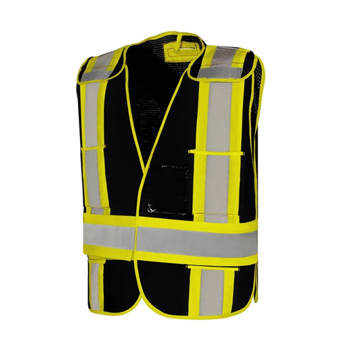 Five Point Tear-Away Safety Vest, Universal Size