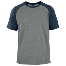 Heather grey cool grey 9c-navy 296c