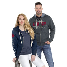 ethica Unisex hooded full zip sweater #517