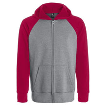 Heather grey cool grey 9c-red 1945c