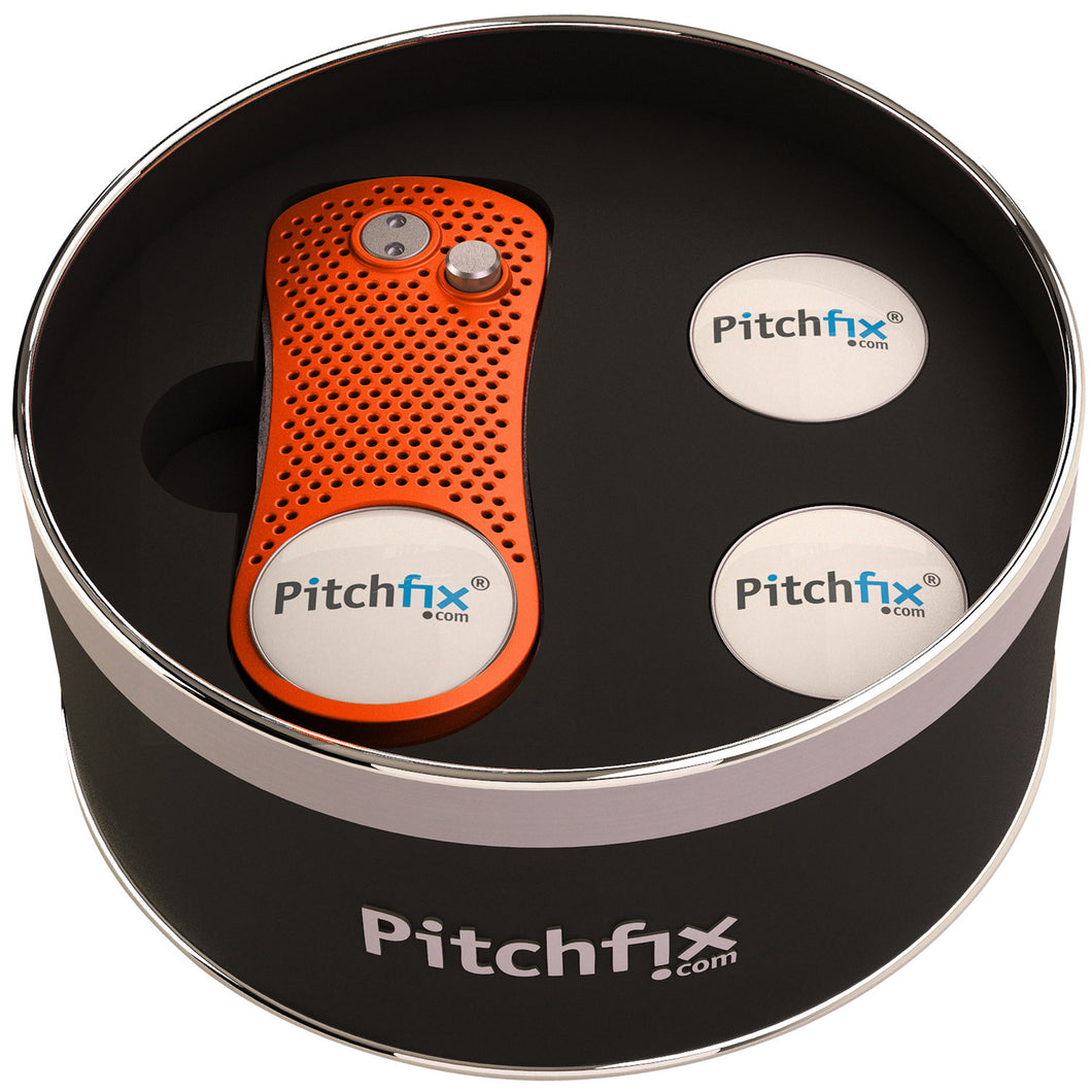 Pitchfix Hybrid Round Tin Box