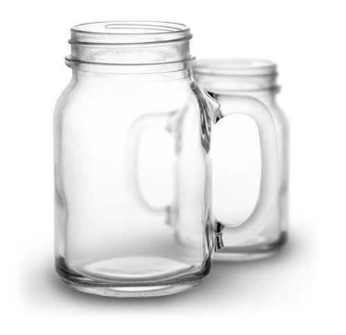 20 oz Mason Jar with handle