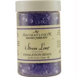 Stress Less Inhalation Beads 2.5 Oz Blend Of Lavender, Chamomile, And Sage By Aromafloria