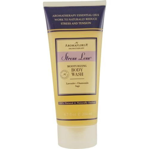 Stress Less Body Wash 6.7 Oz Blend Of Lavender, Chamomile, And Sage By Aromafloria