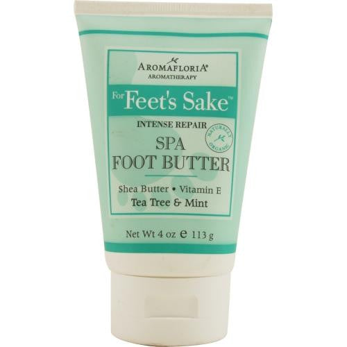For Feet's Sake Intense Repair Spa Foot Butter 4 Oz Blend Of Tea Tree And Mint By Aromafloria