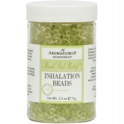 Head Aid Relief Inhalation Beads 2.5 Oz Blend Of Tea Tree, Rosemary, And Peppermint (preservative Free) By Aromafloria